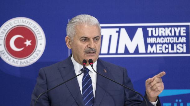 """Le PM turc met en avant l'objectif de l'opération """"Bouclier de l'Euphrate"""""""