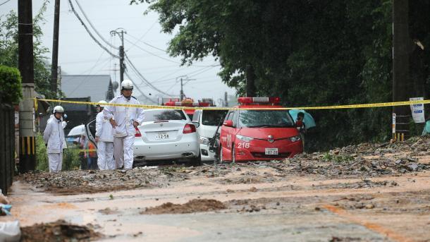 Japoni – Shirat e rrëmbyeshëm shkaktojnë të paktën 80 viktima dhe të paktën 40 të zhdukur | TRT  Shqip