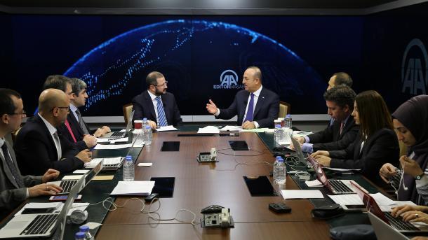 Лавров иЧавушоглу провели телефонные переговоры