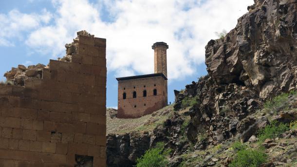 Tourisme en Turquie: le site archéologique d'Ani à Kars