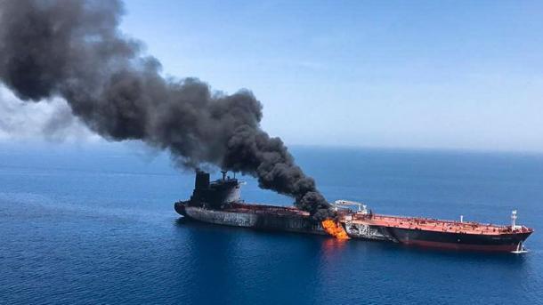 Turqia dënoi ashpër sulmet ndaj anijeve cisternë në Gjirin e Omanit | TRT  Shqip