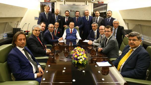 Erdogan dit avoir effectué des entretiens positifs avec les autorités européennes