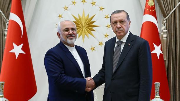 Erdogan priti në takim ministrin e jashtëm iranian | TRT  Shqip