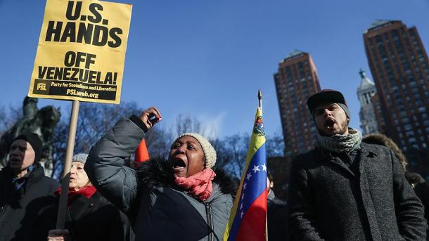 Mbështetje për Maduron në rrugët e Nju-Jorkut | TRT  Shqip