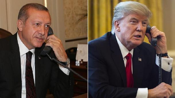SHBA – Trump njofton bisedë telefonike me Erdogan për Lindjen e Mesme | TRT  Shqip