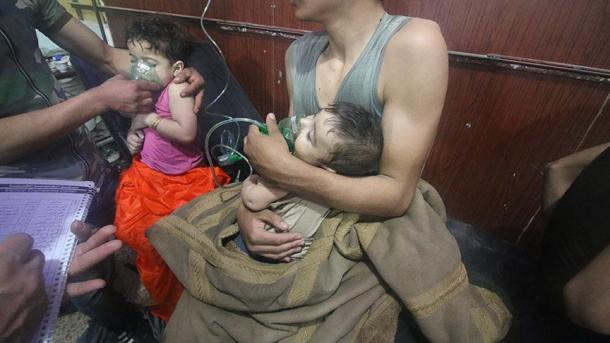 Regjimi i Esadit sërish sulmon civilët me armë kimike | TRT  Shqip