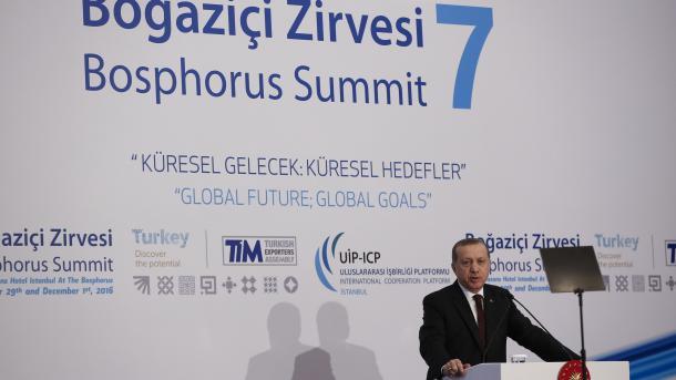 Erdogan voit de très nombreuses alternatives à l'UE