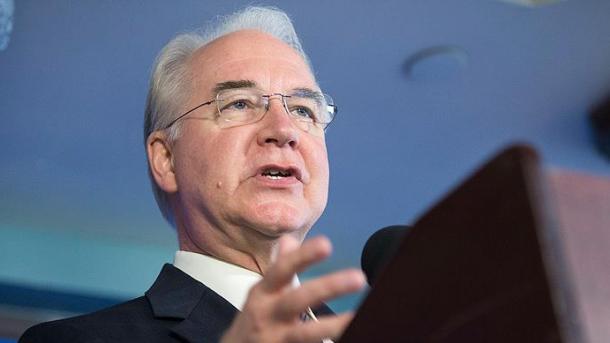 US-Gesundheitsminister Tom Price gibt nach Affäre um Privatflüge auf