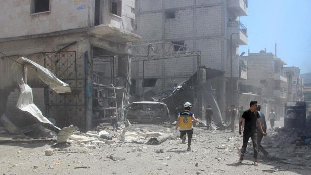 SNHR: Brenda 1 viti në Idlib janë vrarë 1.109 civilë | TRT  Shqip