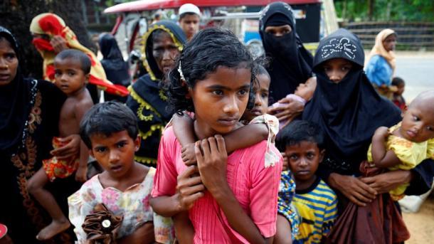 OKB-ja: Rritet në 582.000 numri i myslimanëve rohingianë të zhvendosur në Bangladesh   TRT  Shqip