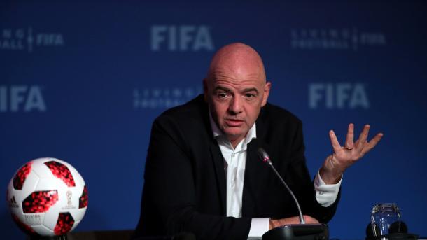 Gianni Infantino, kandidati i vetëm në zgjedhjet për presidentin e FIFA-s