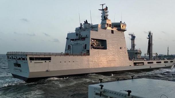 Industria turke e mbrojtjes prodhon anijen më të madhe të Marinës së Pakistanit | TRT  Shqip
