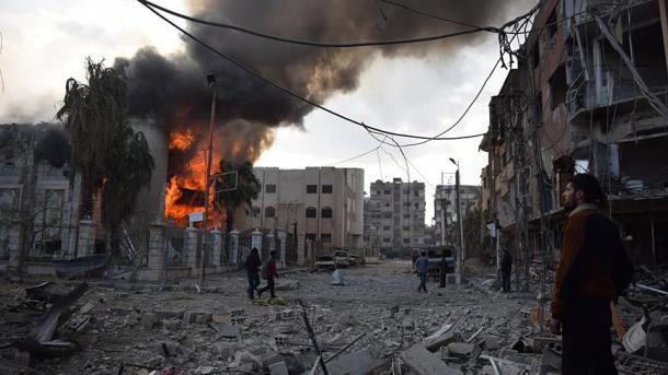 Siri – Më shumë se 500 civilë të vrarë në 7 ditë në Gutën Lindore | TRT  Shqip