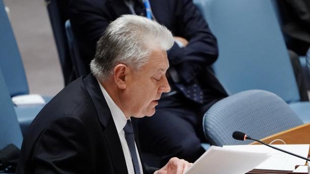 KS i OKB-së u mblodh me kërkesë të Rusisë në lidhje me tensionimin me Ukrainën | TRT  Shqip