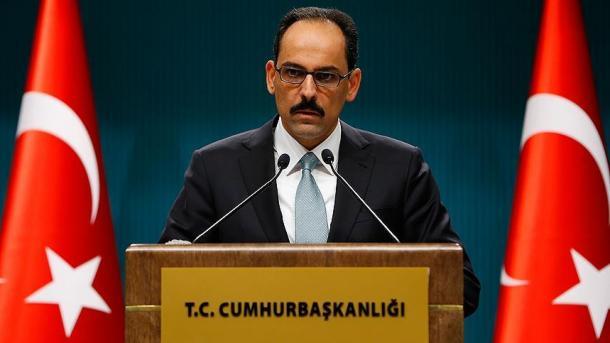 Zëdhënësi i Presidencës turke prononcohet në lidhje me sulmin ndaj regjimit të Esadit | TRT  Shqip