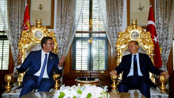 U Istanbulu održan sastanak Erdogana i Vučića