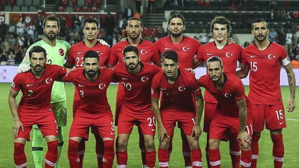 土耳其在国际足联排名第38位   三昻体育