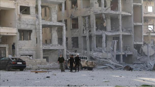 Regjimi i Asadit bombardoi vendbanimet në zonën e çtensionuar të Idlibit   TRT  Shqip