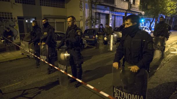 Shpërthim bombe përpara ndërtesës së një gjykate në Athinë | TRT  Shqip
