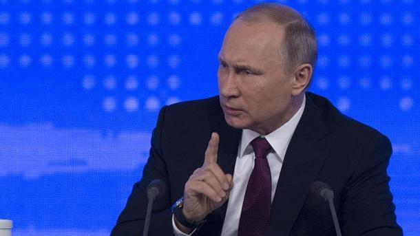 'Não tenho dias ruins porque não sou mulher', diz Putin