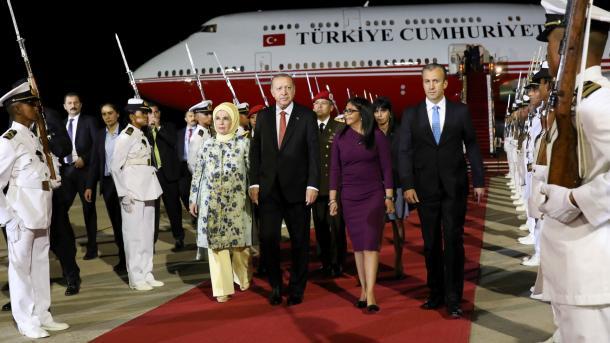 رئيس الجمهورية اردوغان يغادر فنزويلا   TRT  Arabic