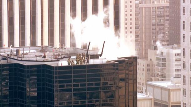 Incendiu la Trump Tower ın New York