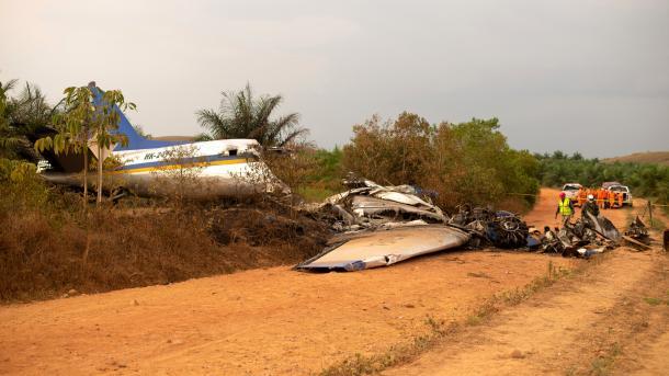 Avión se estrelló y murieron sus 12 ocupantes — Colombia