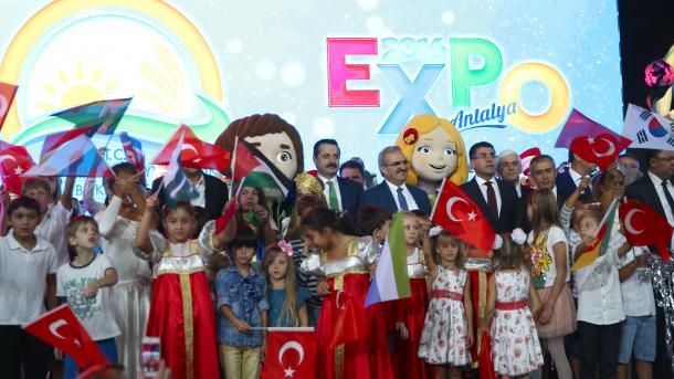Прошла церемония закрытия Expo 2016 в Анталии