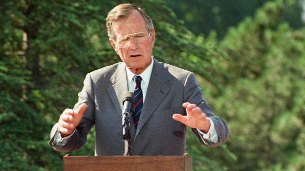 George Herbert Walker Bush, ancien président américain est décédé