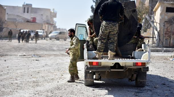 Organização terrorista DAESH executa ataque suicida em Al Bab