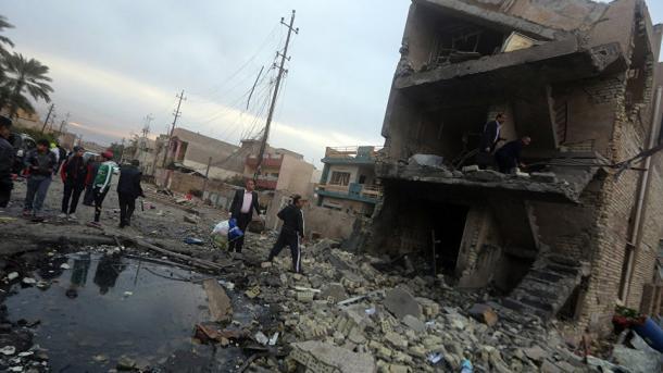 Shumë të vrarë dhe të plagosur në sulmin e dyfishtë në Bagdad | TRT  Shqip