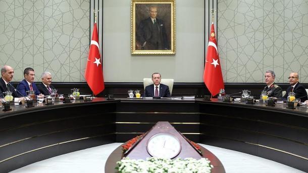 Përfundon mbledhja e Këshillit të Sigurisë Kombëtare, sinjal për operacion në Afrin   TRT  Shqip