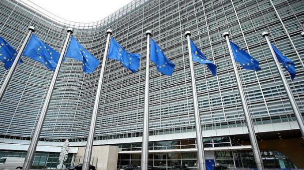 El saludo al canciller de la Unión Europea