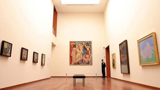 Нааукционе встолице Англии портрет музы Пабло Пикассо продали за $69 млн.