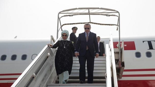 Erdogan en visite au Soudan