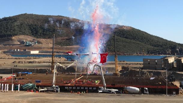 Akkuyu : La Turquie et les centrales d'énergie nucléaire
