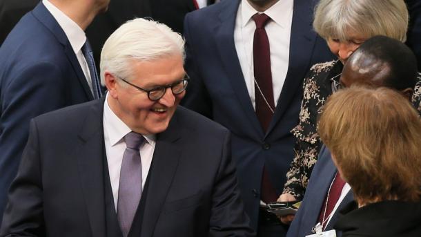 Frank-Walter Steinmeier presidente de Alemania