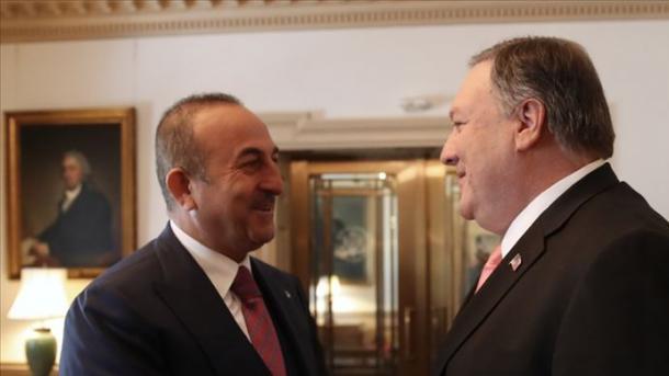 Takimi Çavusoglu-Popmpeo, në fokus marrëdhëniet dypalëshe | TRT  Shqip