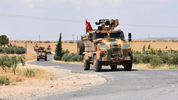 Trupat turke vazhdojnë patrullimin në Menbixh | TRT  Shqip