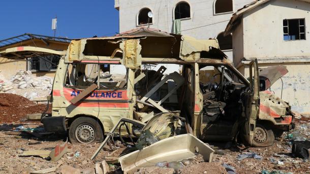 Siri - Koalicioni antiDAESH nën udhëheqjen e SHBA-së godet një spital në Hajjin   TRT  Shqip
