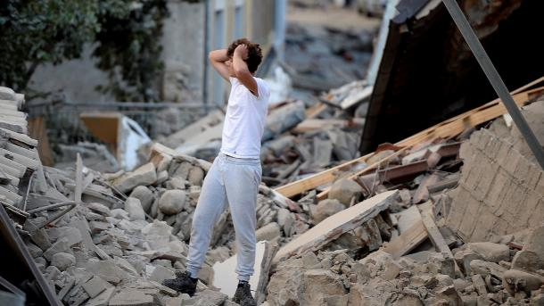 زلزال يضرب جزيرة ايطالية   TRT  Arabic