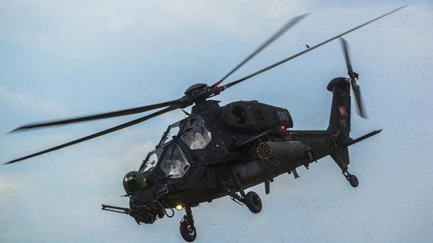 "Antalia – Helikopteri turk, ""ATAK"", ylli i Panairit ""Eurasia Airshow"" | TRT  Shqip"