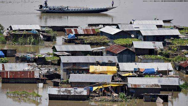 ВИндии неменее 80 человек погибли в итоге наводнения