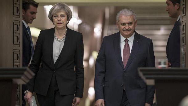 Jëldërëm: Vizitat reciproke janë rast i mirë i përforcimit të marrëdhënieve Turqi-Angli   TRT  Shqip