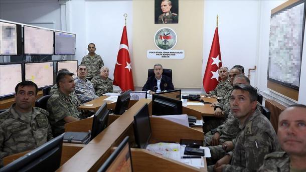 Akar për operacionet e fundit: Deri më tani janë neutralizuar 64 terroristë | TRT  Shqip