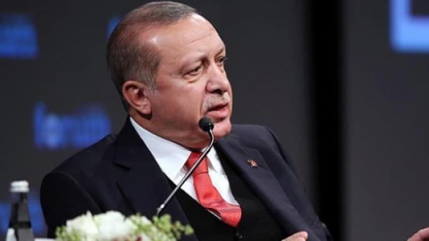 Эрдоган назвал Вашингтон инициатором визового кризиса вотношениях сТурцией