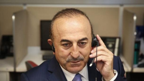 Biseda Cavusoglu-Barzani pas sulmit ndaj bazës ushtarake turke | TRT  Shqip