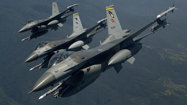 Forcat Ajrore Turke ndërmorën operacione ajrore në zonën Avashin-Basjan në veri të Irakut   TRT  Shqip