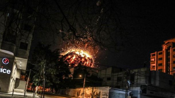 Paria shtetërore dënoi ashpër sulmin ndaj zyrave të AA-së në Rripin e Gazës | TRT  Shqip