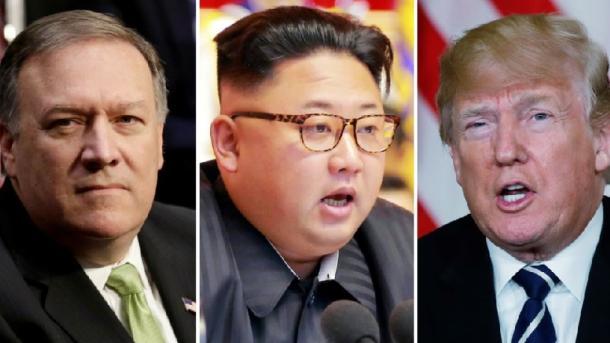 SHBA – Presidenti Trump konfirmon takimin sekret Pompeo-Kim në Phenian   TRT  Shqip